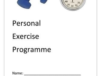 GCSE P.E PEP Booklet