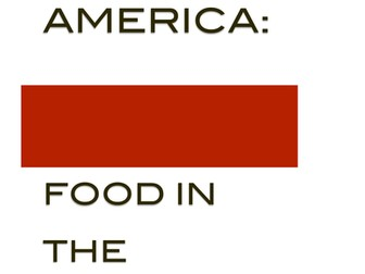 American Colonies: Food in America's Colonies Station Activity(CCSS)