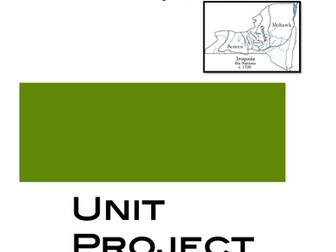 Native Americans: Unit Project on the tribes of the Iroquois