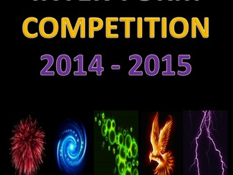 Year 9 Inter-form Competition Folder