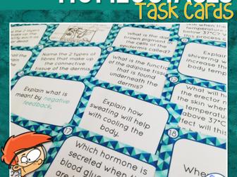 Homeostasis Task Cards