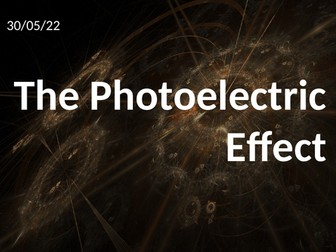 Photoelectric Effect Animated A-level Physics