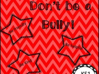 PSHE Anti-Bullying  Workbook