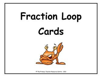Fraction Loop Cards