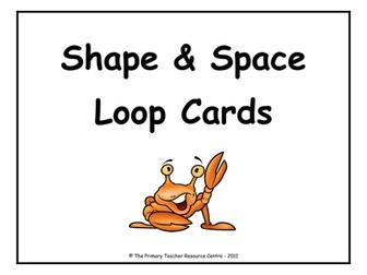 Shape & Space Loop Cards