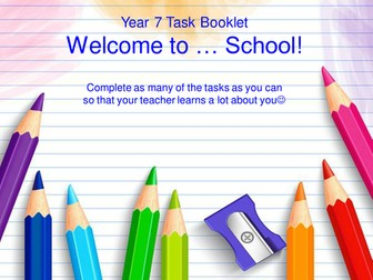 Transition New Year 7 Booklet