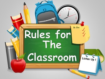 Transition : Rules for the classroom