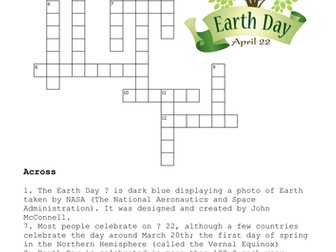 Earth Day Puzzle Pack