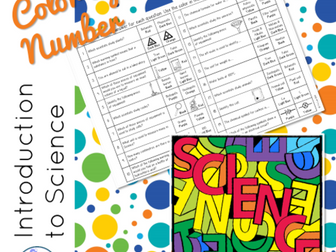 Introduction to Science Color-by-Number