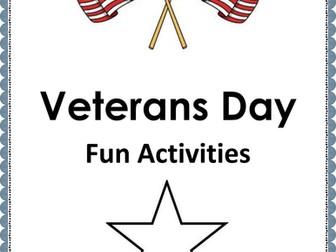 Veterans Day Fun Activities