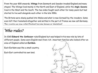 The Norman Conquest - Battle of Hastings SOW