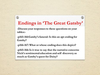 gatsby funeral essay -no one swooned backward on gatsby, and no french bob touched gatsby's shoulders, and no singing quartets were formed with gatsby's head for one link -nick (350)-the great party-crasher mrs dalloway, the great gatsby, and the cultures of world war 1 remembrance, a critical essay written by phillip d beidler -jay gatsby, he is always.