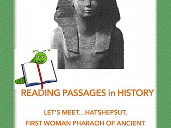 Hatshepsut: First Female Pharaoh of Ancient Egypt(A Biographical Reading Passage)