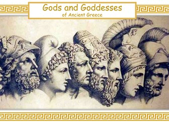 Ancient Greek Gods and Goddesses: The Olympians
