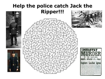 Jack the Ripper Puzzle Pack
