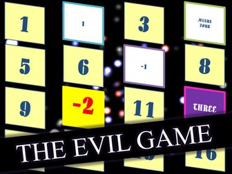 The Evil Game Plenary