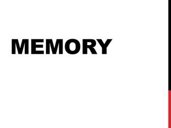 AQA Psychology - Memory Revision / Summary