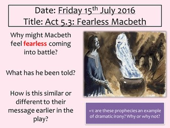 Macbeth Act 5 Scene 3