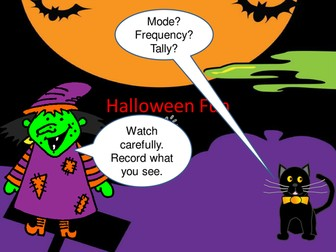 Halloween Maths PowerPoint (Tally)