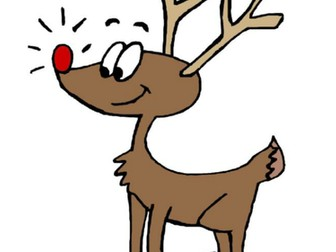 Rudolph The Red-Nosed Reindeer - MP3 tracks & piano score arranged for early years & KS1 (also KS2!)