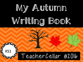 Autumn Writing Book