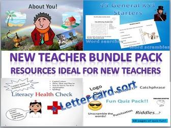 New Teacher Bundle Pack