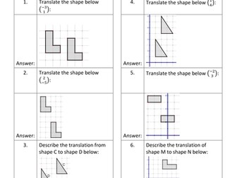Geometry QR Code Homework Sheets - Bundle 2