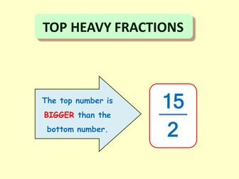 Top Heavy Fractions