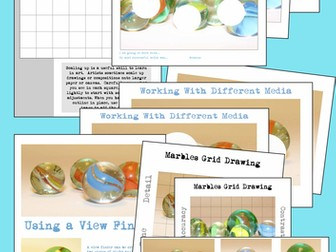 Marbles Drawing and Painting Bundle