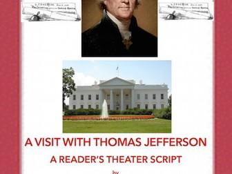 Thomas Jefferson: A Reader's Theater Script