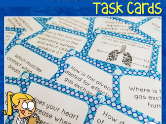 Respiration & Gas Exchange Task Cards