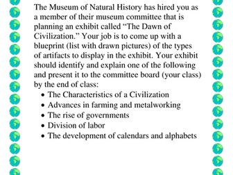 Museum Project The Foundations of Civilization