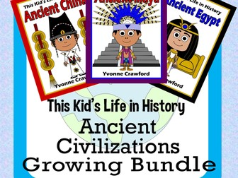 Ancient Civilizations BUNDLE - Ancient Maya, Ancient Egypt, Ancient China