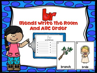 Blends Write The Room (Br)
