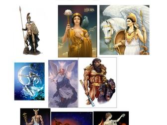 12 greek gods of olympus