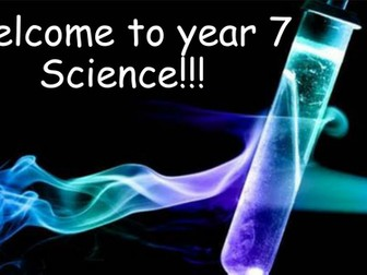 Year 7 - Introduction to Science: Lab safety & equipment.