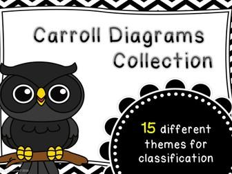 Carroll Diagrams collection