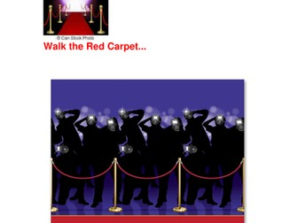 Back to School...Roll Out the Red Carpet!