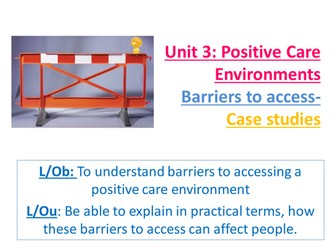 positive care environments