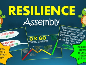Building Resilience Assembly!