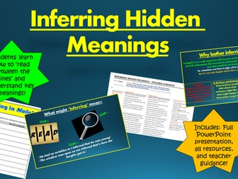 Inferring the Hidden Meanings in Texts