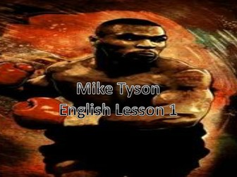 Mike Tyson - English Lessons