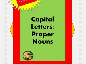 Capital Letters: Proper Nouns