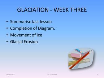 Glaciation -  Mechanisms of Movement
