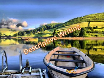 Descriptive Writing Lesson - The Boat on the Water