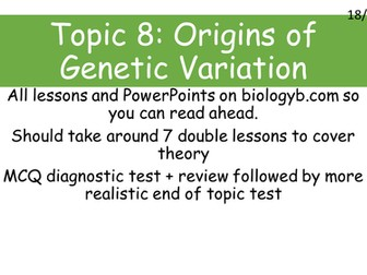 A-Level Biology B - Topic 8 - L4 Sex Linkage and Disease
