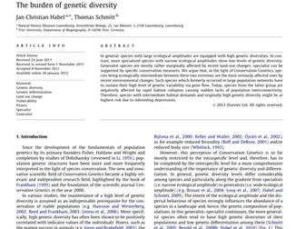 A-Level Biology B - Topic 8 - L5 Genetic Diversity