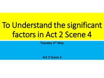 AQA Romeo and Juliet Act 2 Scene 4