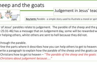 New AQA RE GCSE specification - Christian beliefs in Judgement UPDATED
