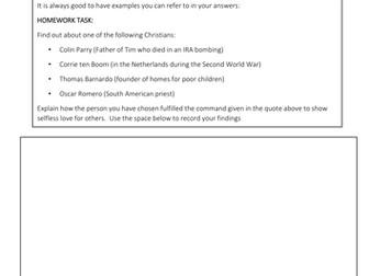 New AQA RE GCSE specification - introducing Jesus